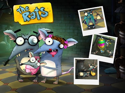 The Rats – Build a Cheese Empire: Online Game  Apk Download For Android and Iphone 6