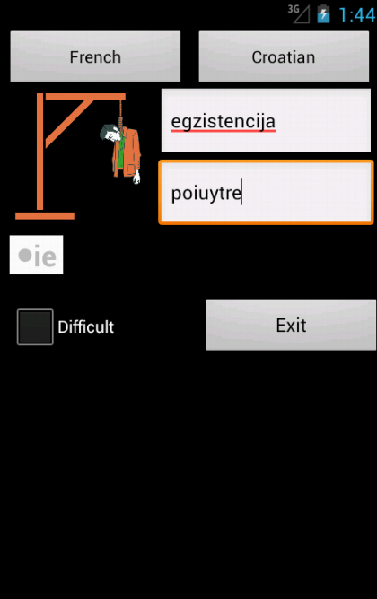 French Croatian Dictionary- screenshot