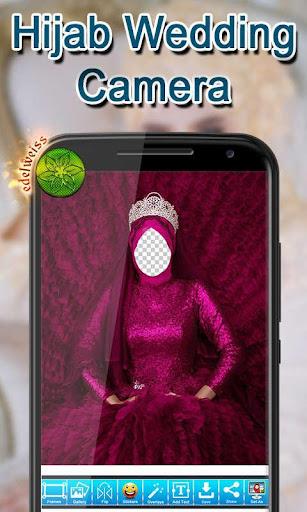 Hijab Wedding Camera 1.3 screenshots 4