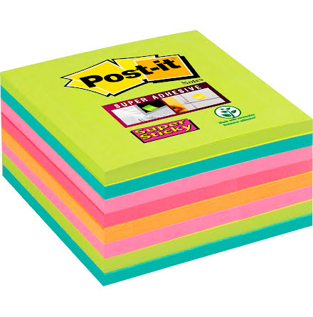Post-it Rainbow 76x76 8/fp