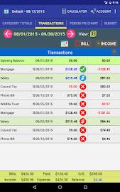 MoBill Budget and Reminder Screenshot 12