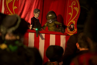 Photo: The Puppet Doctor? A new image from The Time of the Doctor.