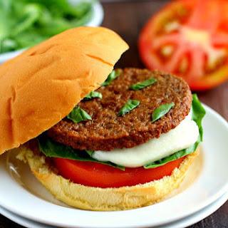 Caprese Veggie Burgers