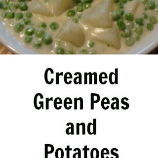Creamed Peas And Potatoes.