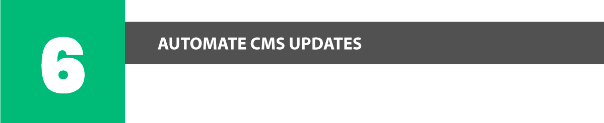 plesk security automate cms updates