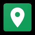 住所と標高 - タップした場所の住所(郵便番号付き)と標高を表示 icon