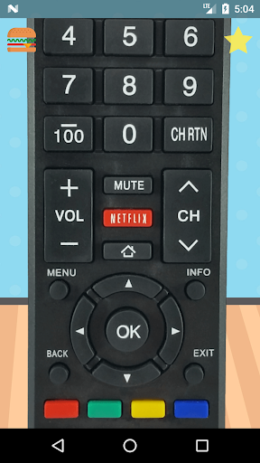 Remote Control For Toshiba 7.1.9 screenshots 1