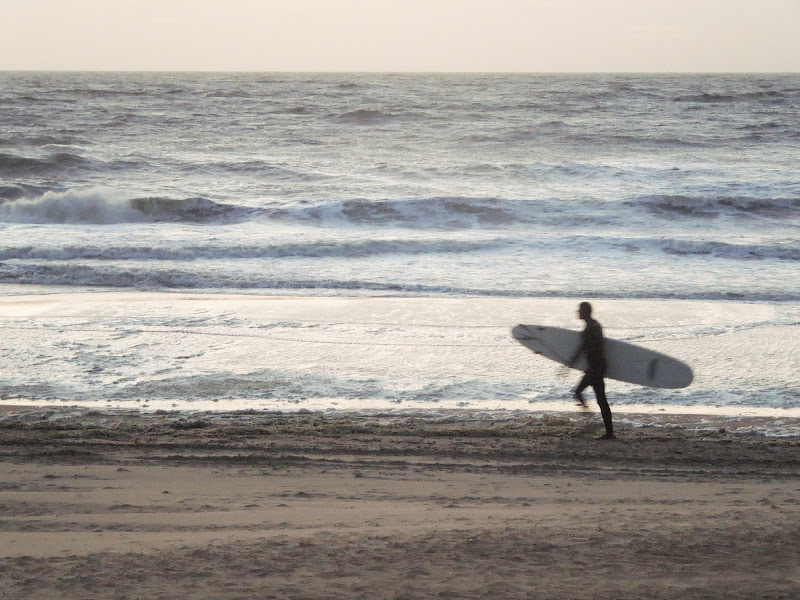 Surf al tramonto di Agocentrico