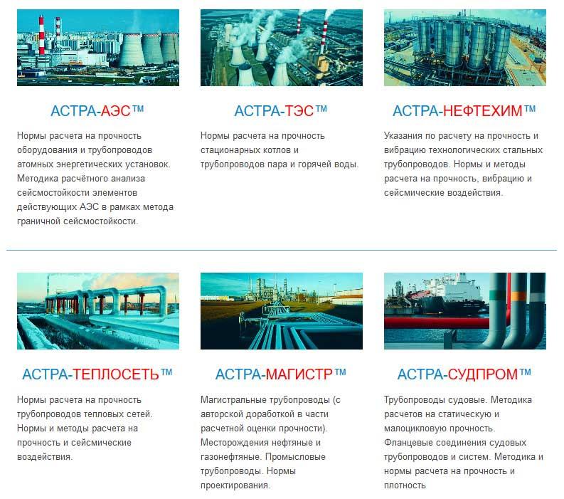 Для автоматизированного проектирования и расчетов трубопроводных систем на статическую и циклическую прочность, на сейсмические воздействия, вибропрочность и неустановившиеся динамические процессы в соответствии с российскими нормативными требованиями.
