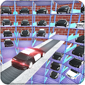 Multi-Level US Police Car Parking Driving School