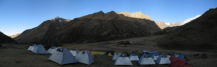 Photo: Camp on 3800 m.a.s.l