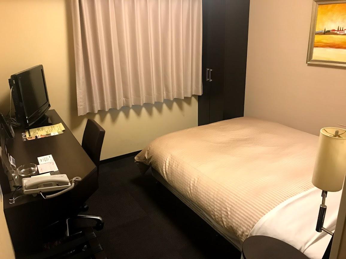 ルートイン札幌中央シングルルーム