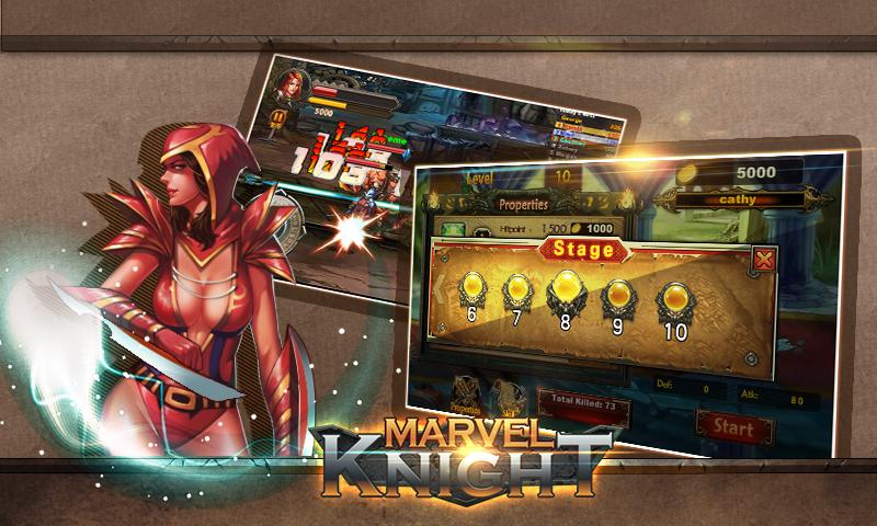 MARVEL knight-Nonstop Fighting- screenshot