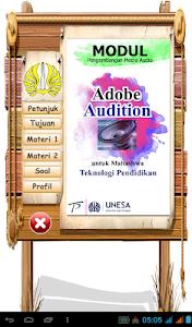 Modul Adobe Audition screenshot 0