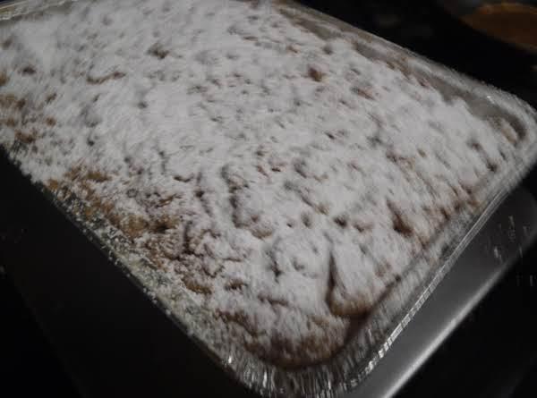 Whitney's Crumb Cake Recipe