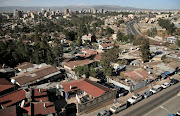 An aerial view shows residential estates in Addis Ababa, Ethiopia February 15, 2018.