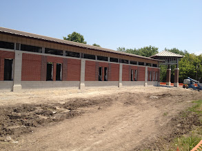 Photo: The upper windows will provide lots of natural light.