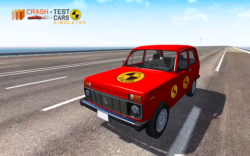 Car Crash Test NIVA  captures d'u00e9cran 7