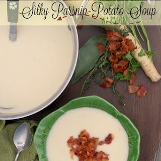 Silky Parsnip-Potato Soup