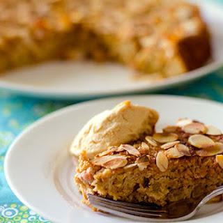 Almond Rhubarb Cake (Gluten-Free, Low-GI)