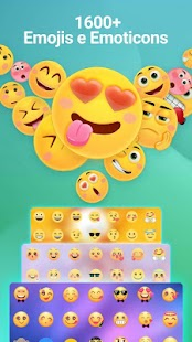 Emoji keyboard - Cute Emoticons, GIF, Stickers Screenshot