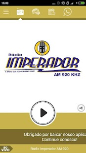 Rádio Imperador AM 920- screenshot thumbnail