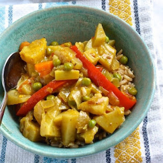 Pineapple Curry Vegan Recipes