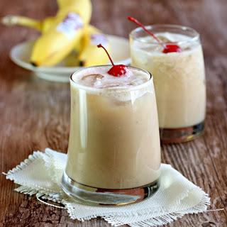 Frozen Monkey Cocktail.