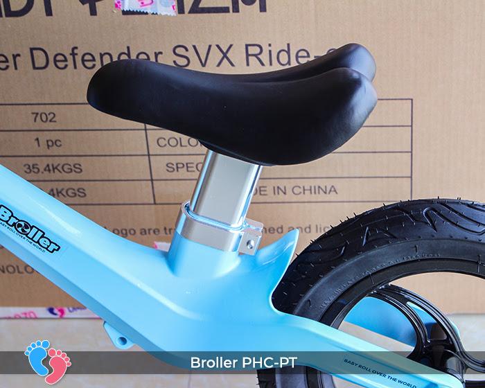 Xe cân bằng Broller PHC-PT bánh hơi 9