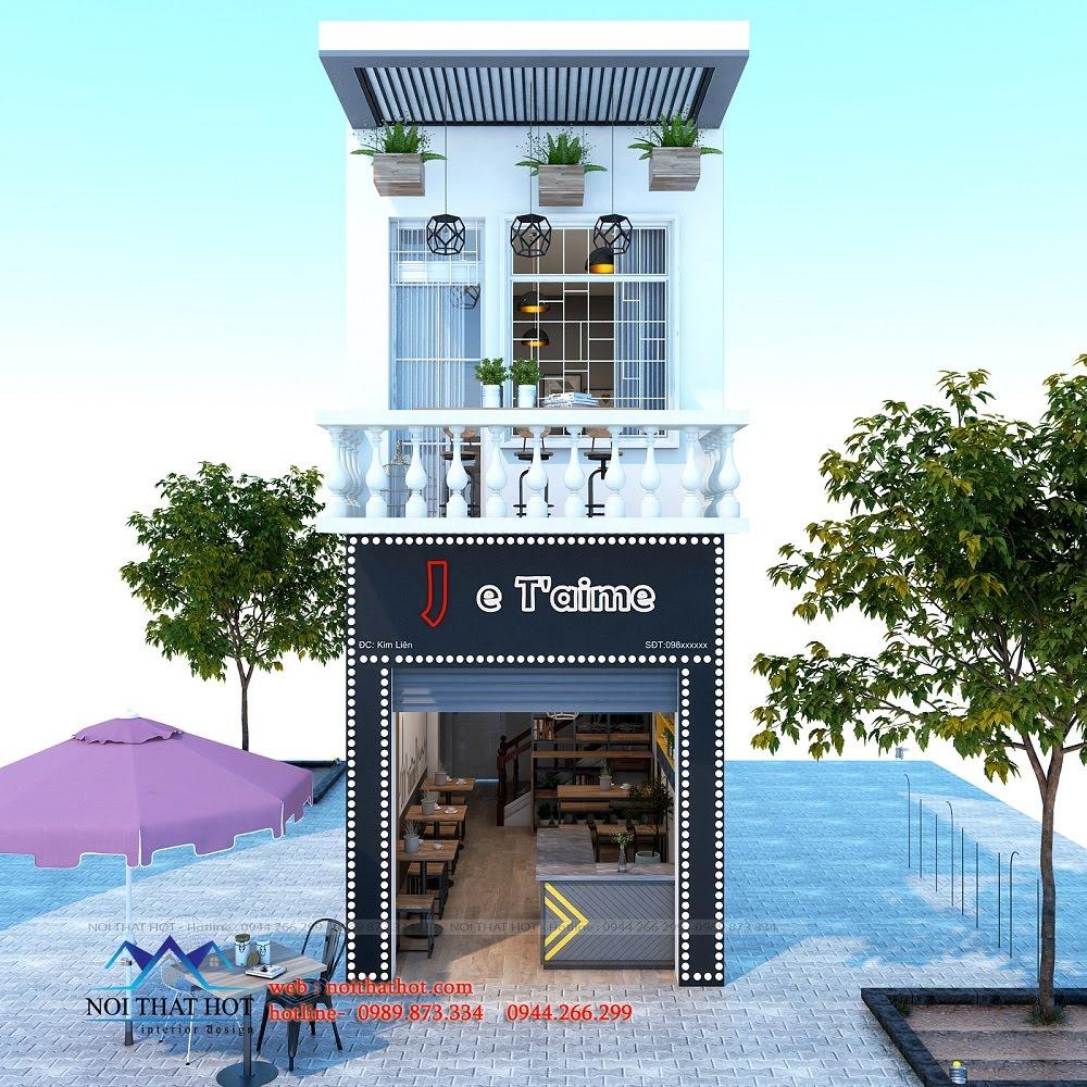Thiết kế quán ăn nhanh đẹp và sang trọng