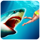 Angry Shark Attack - Hungry Shark Adventure 2018