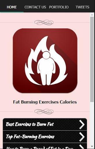脂肪燃焼カロリー演習します