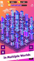 Merge City: idle merger game