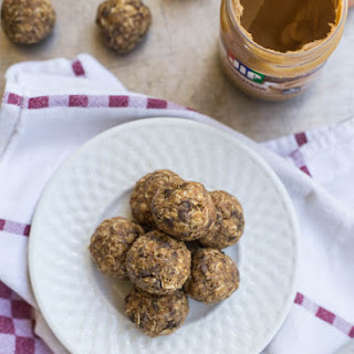 Peanut Butter Oatmeal Cookie Energy Bites.