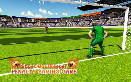 Super gardien de but: jeu de pénalité  captures d'écran 2