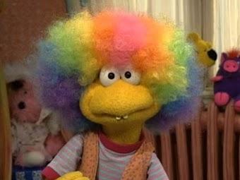 Wimzie's Rainbow Wig