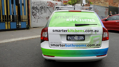 Photo: Smarter Bathrooms & Smarter Kitchens, 2 in 1 AutoSkin. http://www.decentlyexposed.com.au/autoskin/?p=11106&preview=true — at Decently Exposed.