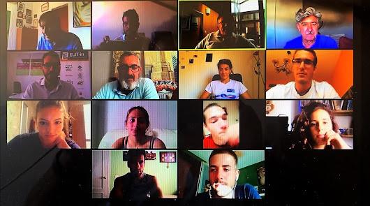 La última convocatoria online de la Federación Andaluza de Remo