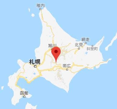 地図:南ふらの