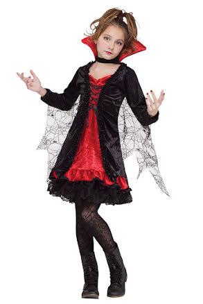 Klänning, vampyra lace