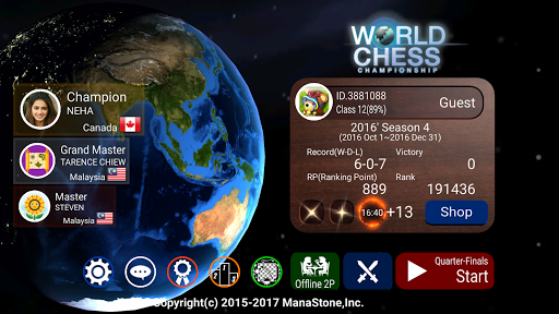 World Chess Championship screenshot 1