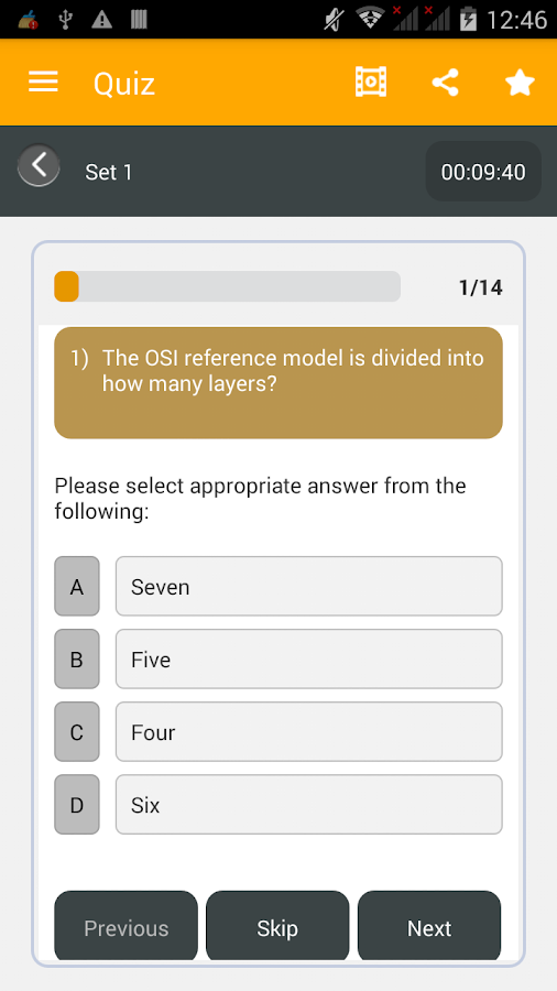 Qquiz- screenshot