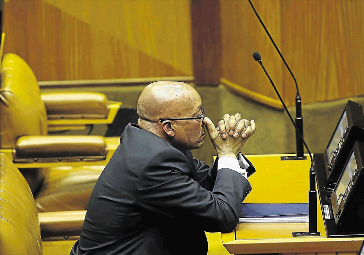 The Constitutional Court ruled that parliament had failed to hold Zuma accountable for using public money for private home upgrades.
