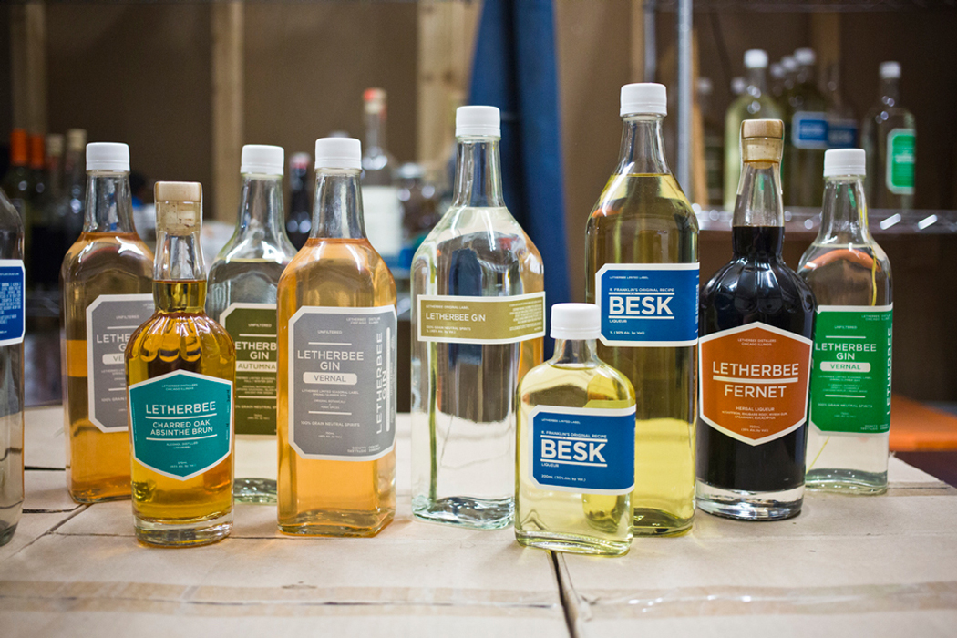 10 Top Whiskey Distilleries in and around Chicago and Letherbee Distillers