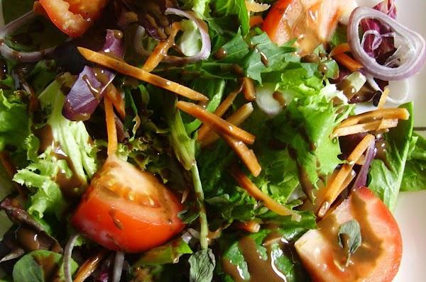 Lite As Springtime Balsamic Avocado Vinaigrette Recipe