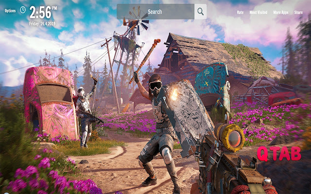 Far Cry New Dawn New Tab Game Wallpapers
