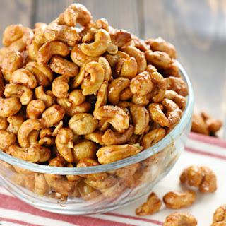 Honey Chipotle Lime Cashews