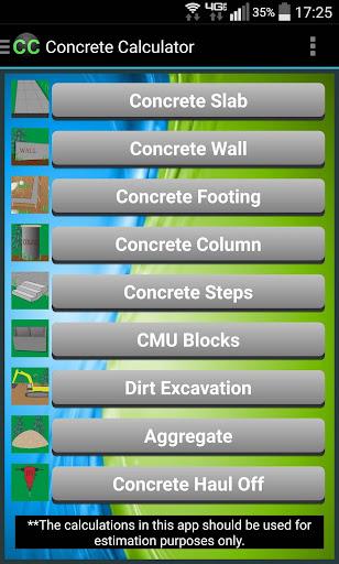 Concrete Calculator