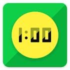 Touch Circle Clock Wallpaper + icon