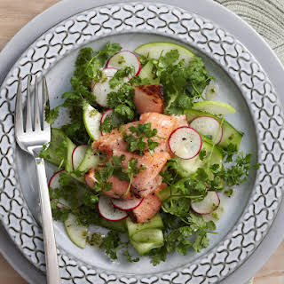 Tea Smoked Trout Salad.